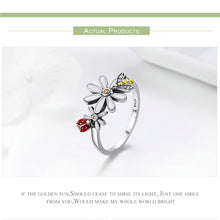 Flower Garden Finger Rings