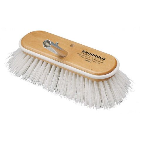 "Shurhold 10"" Polypropylene Stiff Bristle Deck Brush [990]"