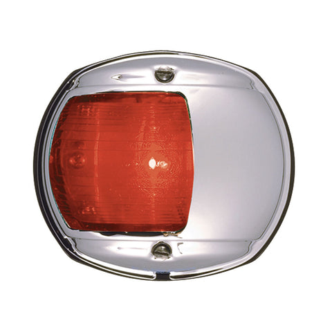 Perko LED Side Light - Red - 12V - Chrome Plated Housing [0170MP0DP3]