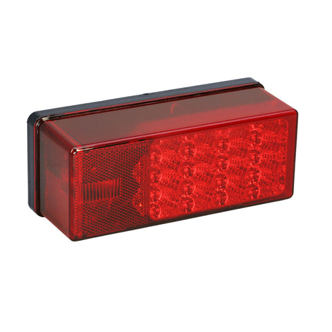 "Wesbar 3"" x 8"" Waterproof LED 7-Function, Right/Curbside Tail Light [407530]"