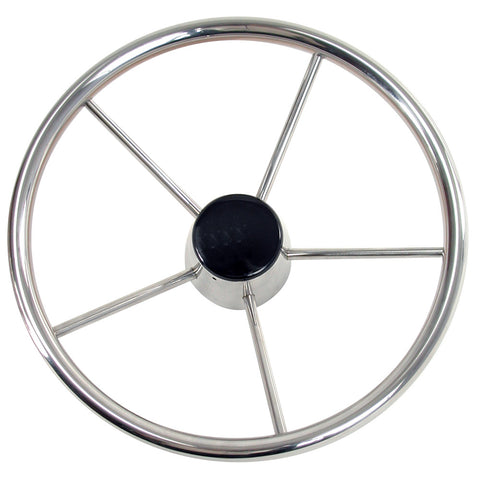 "Whitecap Destroyer Steering Wheel - 13-1/2"" Diameter [S-9001B]"