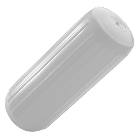 Polyform HTM-1 Hole Through Middle Fender 6 x 15 - White [HTM-1-WHITEWO]