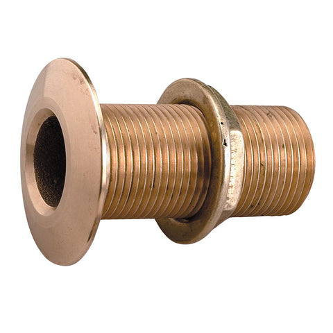 "Perko 1"" Thru-Hull Fitting w/Pipe Thread Bronze MADE IN THE USA [0322DP6PLB]"