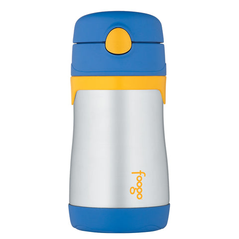 Thermos Foogo Leak-Proof Straw Bottle - Blue [BS535BL003]