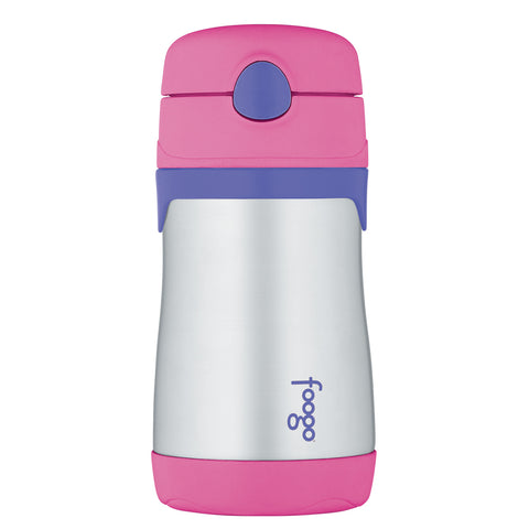 Thermos Foogo Leak-Proof Straw Bottle - Pink [BS535PK003]