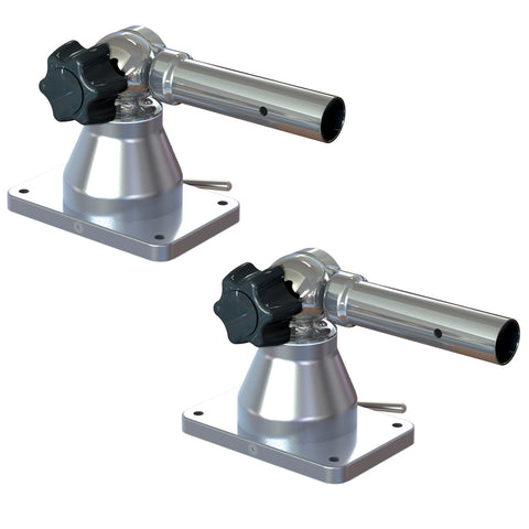 "TACO Grand Slam 170 Outrigger Top Mounts - 1-1/8"" (Pair) [GS-170]"