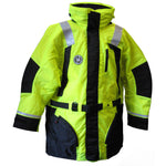 First Watch Hi-Vis Flotation Coat - Hi-Vis Yellow/Black - X-Large [AC-1100-HV-XL]
