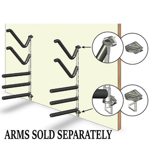 Magma Wall Mounted Kayak-SUP Rack [R10-1004-59]