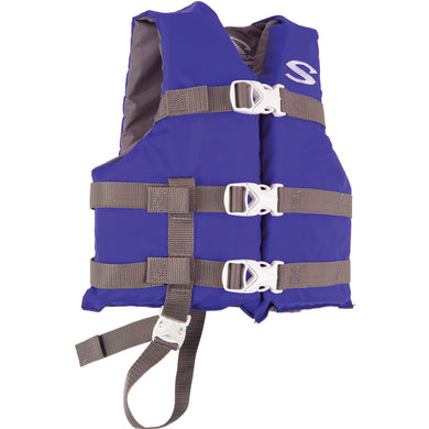 Stearns Classic Child Life Jacket - 30-50lbs - Blue-Grey [3000004471]