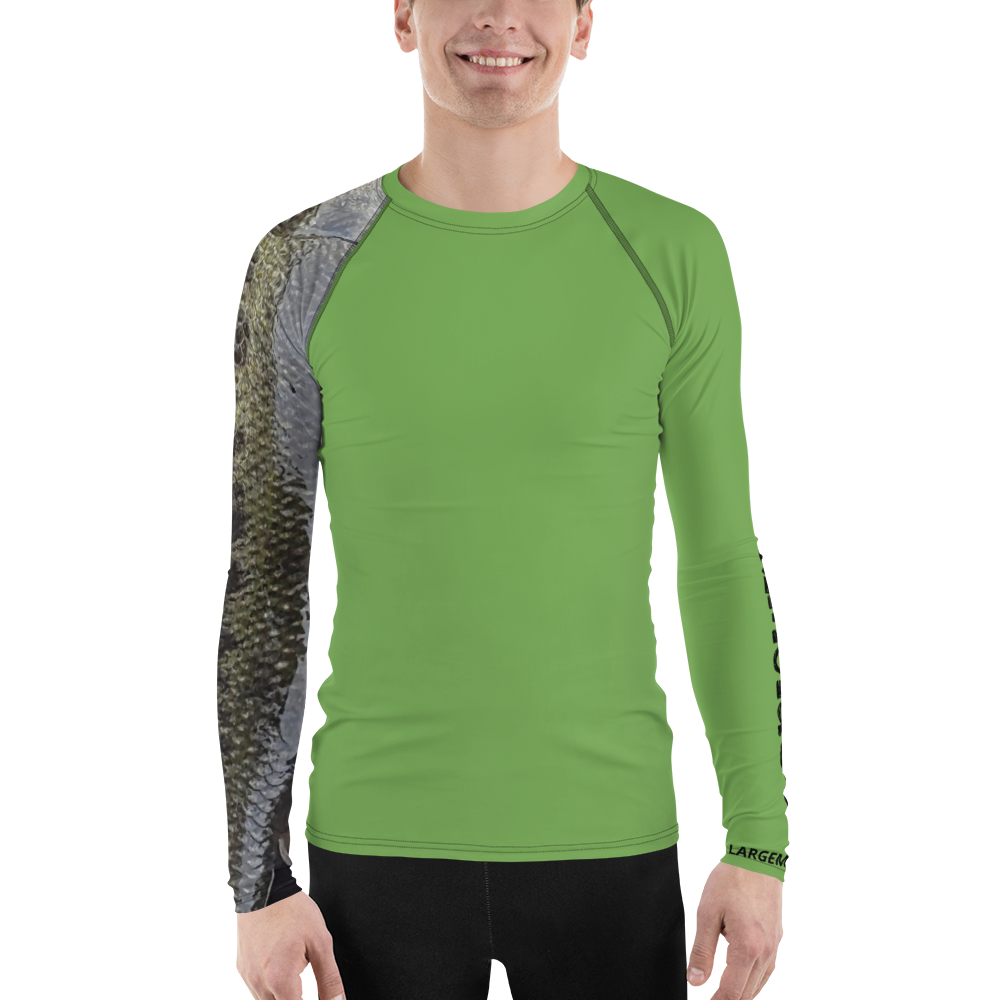 Men's Sun Guard/Base Layer - Largemouth Bass