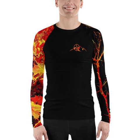 Men's Sun Guard/Base Layer - Maple Leaf Orange