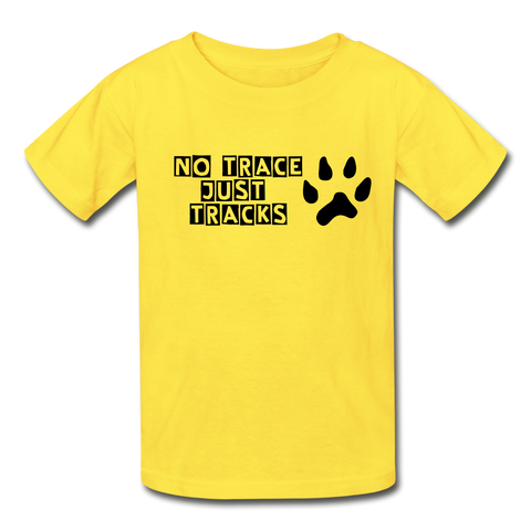 Boys No Trace Tee - yellow
