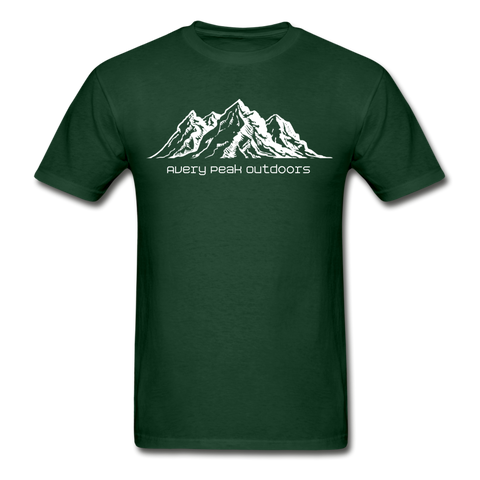 Men's Mountain Tee - forest green