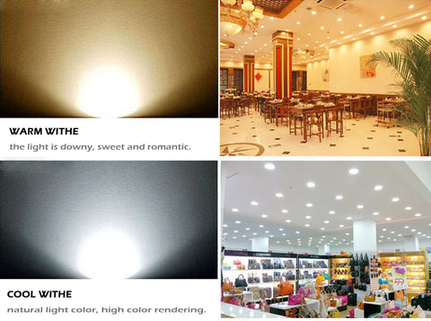 Dimmable 7W LED COB Ceiling Light Recessed Spotlight