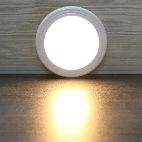 LEMONBEST Magnetic Infrared IR Motion Sensor LED Wall Lamp Auto On/Off Night Light