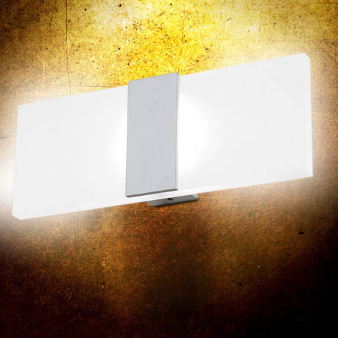 Modern Acrylic 3W 6W LED Wall Lamp Bedside Light for Home Indoor Lighting Decoration Cool /Warm White AC 85-265V Right Corner