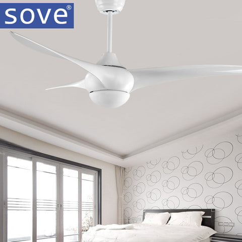 SOVE village ceiling fan with lights & remote control