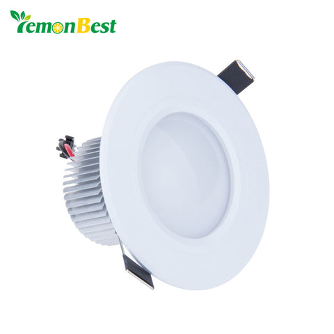 AC85-265V 9W 12W 21W Recessed Dimmable Led White Downlight Ceiling Lamp Spot Light Led Indoor Home Down Light Lighting