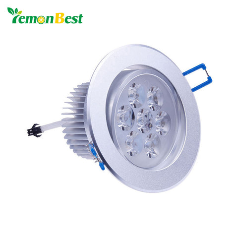 9W 12W 15W 21W 27W 36W Non Dimmable LED Recessed Cabinet Ceiling Lamp Light Dowlight Cold Warm White Indoor Lighting AC85-265V