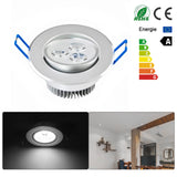 3W Ceiling Downlight LED Lamp Recessed Cabinet Wall Light widely voltage 100V-245V for Home living room illumination