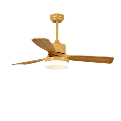 TRAZOS Japanese Wooden Ceiling Fan