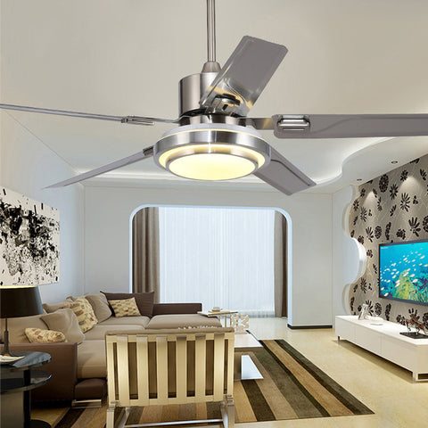 VITRUST  Brushed Nickel Ceiling Fan with remote control