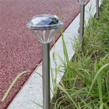 Solar Powered LED Waterproof Standing Panel Landscape Lights