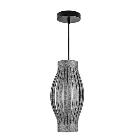 LED Chandelier Hanging Grey Shades Lighting