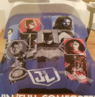 Justice League twin/full comforter