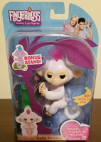 "Fingerlings white monkey ""Sophie"" wow wee"