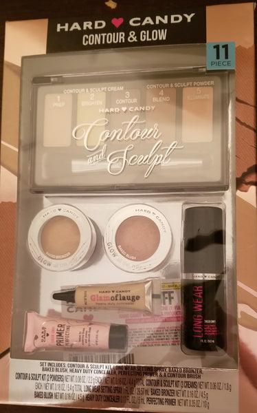Hard Candy contour and glow 11 pcs set