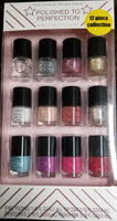 Polished to perfection 12 piece nail polish set
