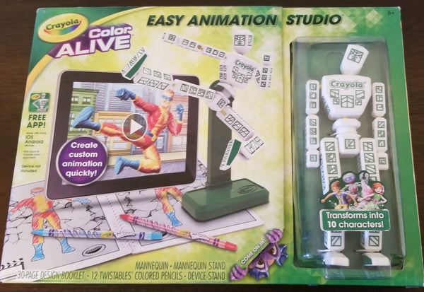 Crayola easy animation studio