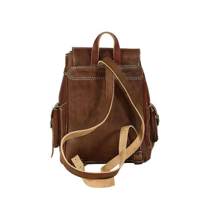 MARRAKECH Leather Kilim Backpack