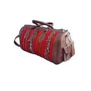 MARRAKECH Leather Kilim Bag