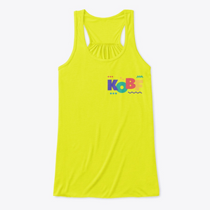 Kiss of Beauty Fitness Store | KOBF FlowyTank Design