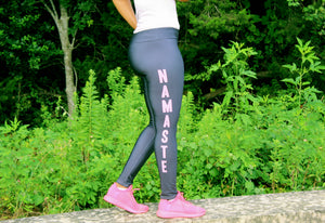 Namaste Design Tights | Kiss of Beauty Fitness Store