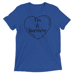 I'm A Survivor T-shirt | Kiss of Beauty Fitness Store