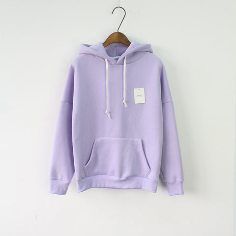 Candy Color HoodieS