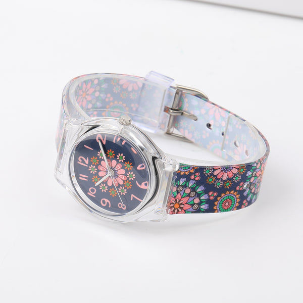 Floral Retro Watch