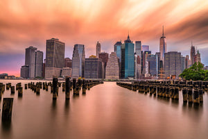 Sunrise in Manhattan  - NYC