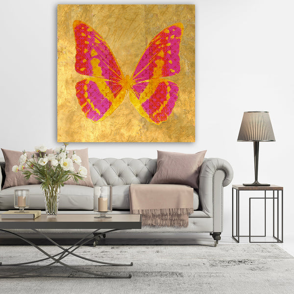 "BUTTERFLY ""GOLDLEAF"" By WallCandy"