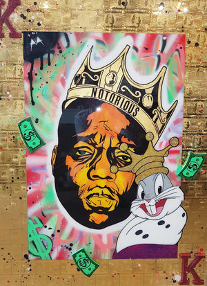 Notorious Buggs / Pop Art / Michael Augello