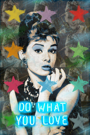 "AUDREY "" STAR LITE ""  By WALLCANDY"