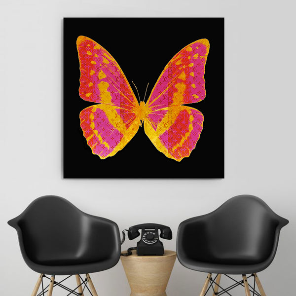 "BUTTERFLY ""PINKISH"" By WallCandy"