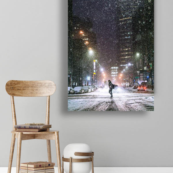 Snow Hustle /  Art Photography / Nate Silver