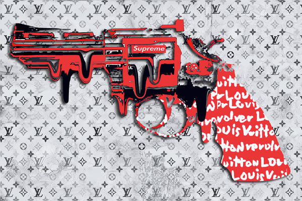 "REVOLVER LOVER "" SUPERME "" By WALLCANDY"