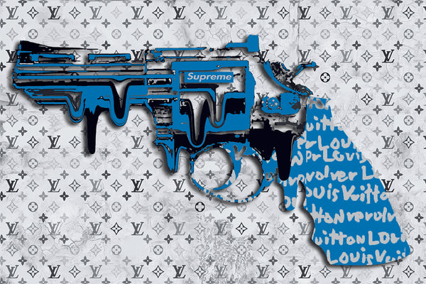 "REVOLVER LOVER "" SUPERMEBLUE "" By WALLCANDY"