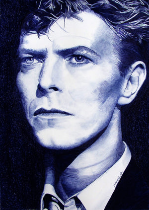 """ DAVID BOWIE "" By JACK ANANOU"