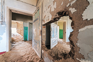 Deserted Doorways - Namibia